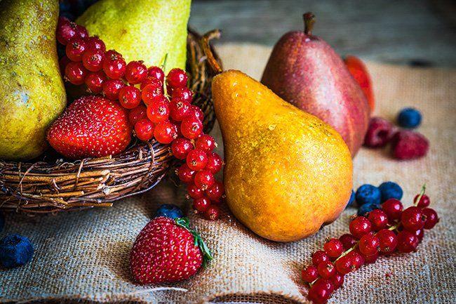 emagrecer frutas