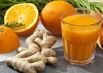 suco detox laranja com gengibre