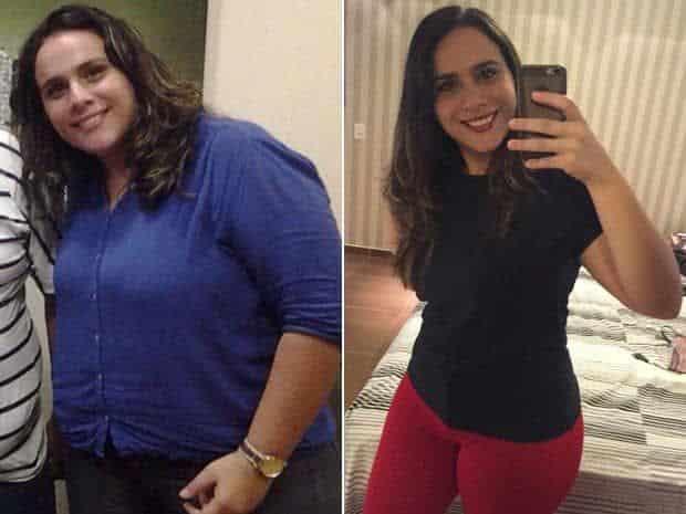 Esposa Emagrece 32 kg